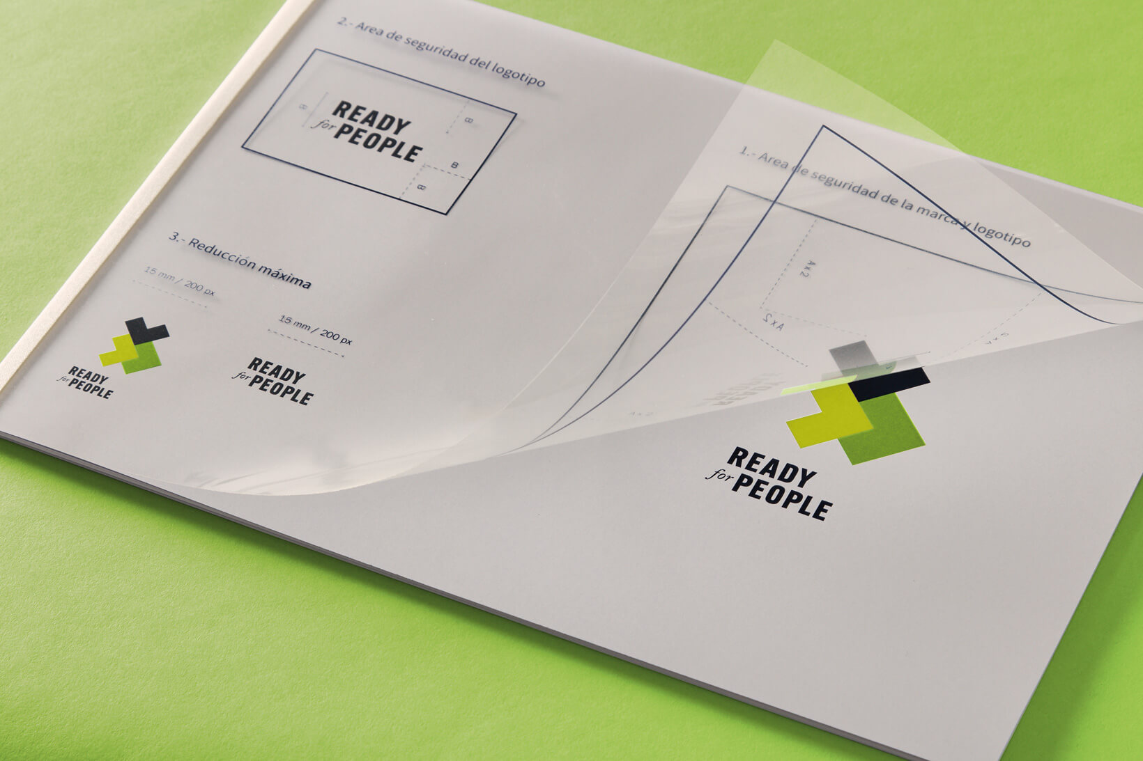 Logotype design for Ready for People